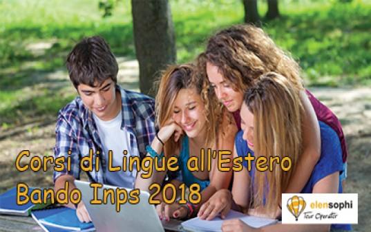 Corsi di Lingua all'estero - Novità Bando Inps 2018