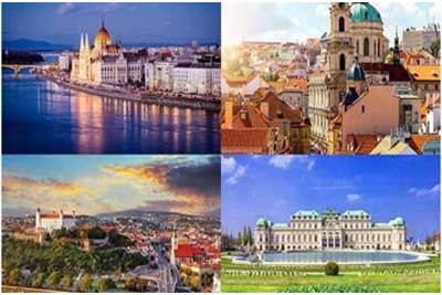 Gran Tour delle 4 Capitali Imperiali Mitteleuropa